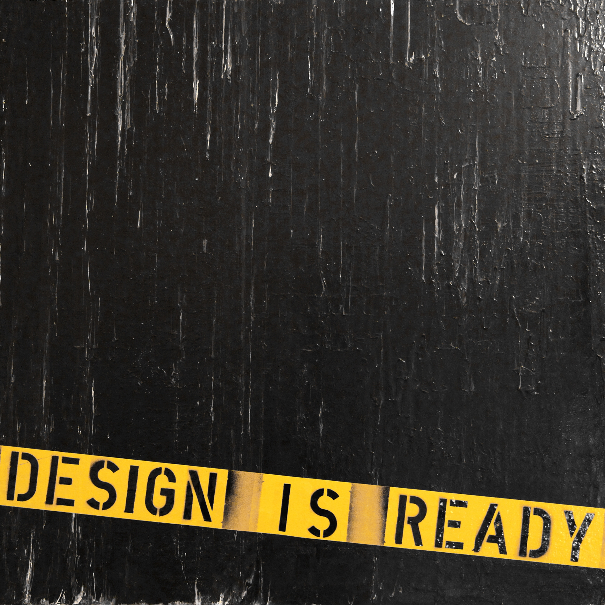 Kunstgemälde: Design is ready, Mixed Media