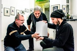 Walter Széchenyi, Gerhard Aba, Gerry Jindra