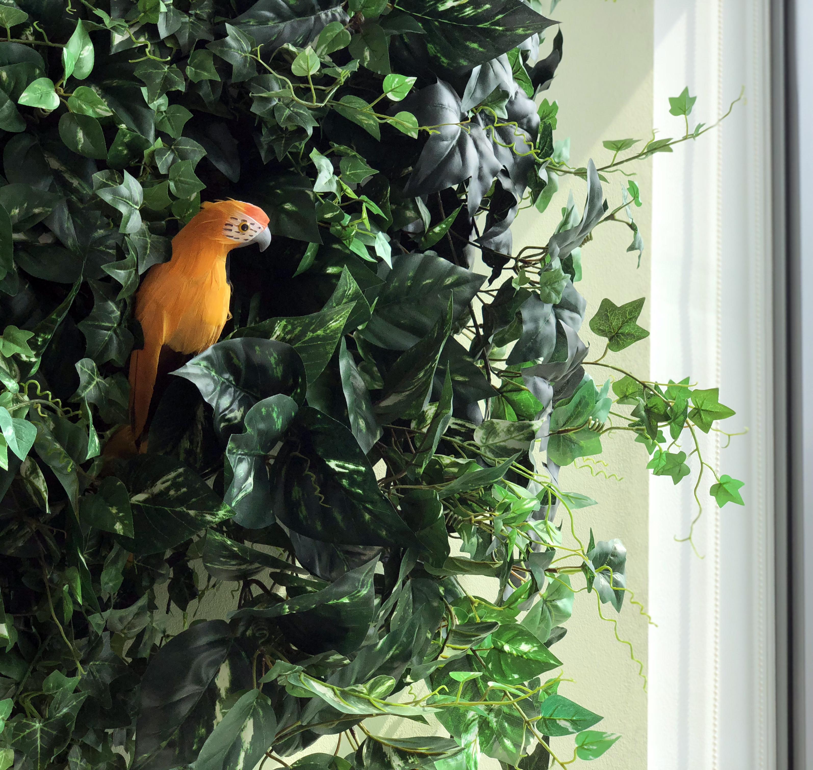 BIRDCAGE – Pflegeleichte Kunstpflanzen und Haustiere