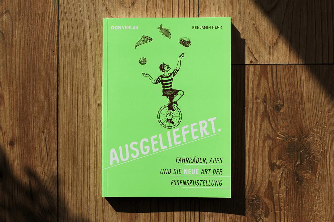 Buch AUSGELIEFERT - Cover