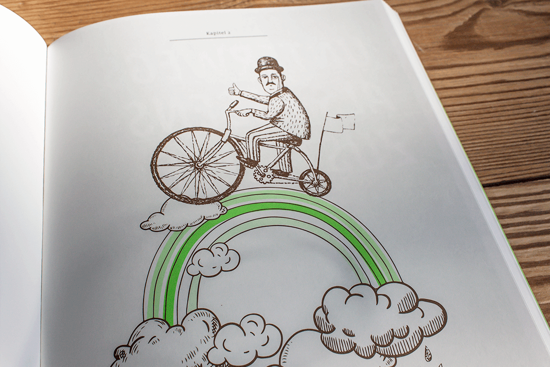 Illustration: Bei jedem Wetter