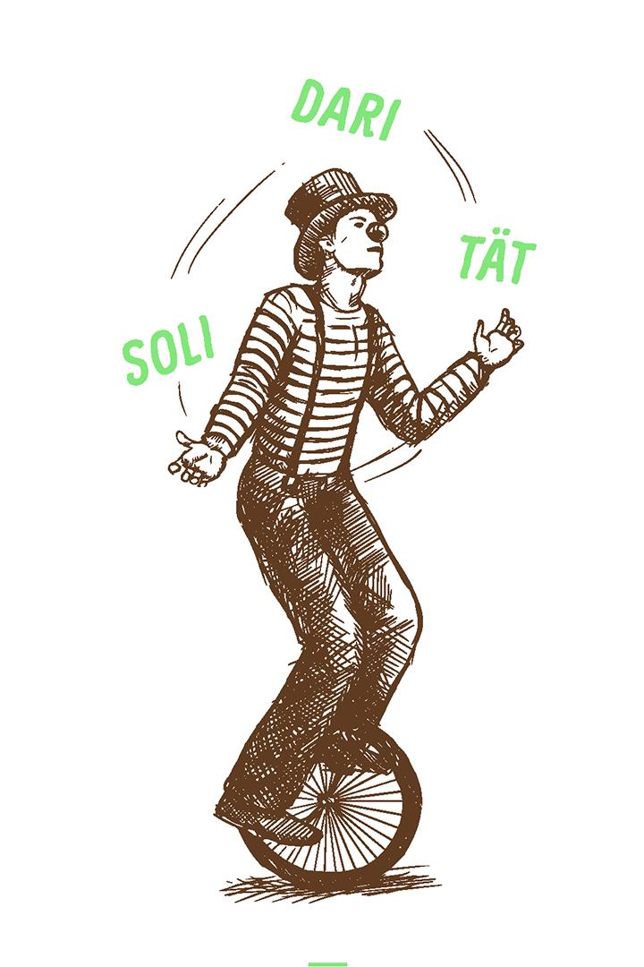 Illustration - Solidaritaet